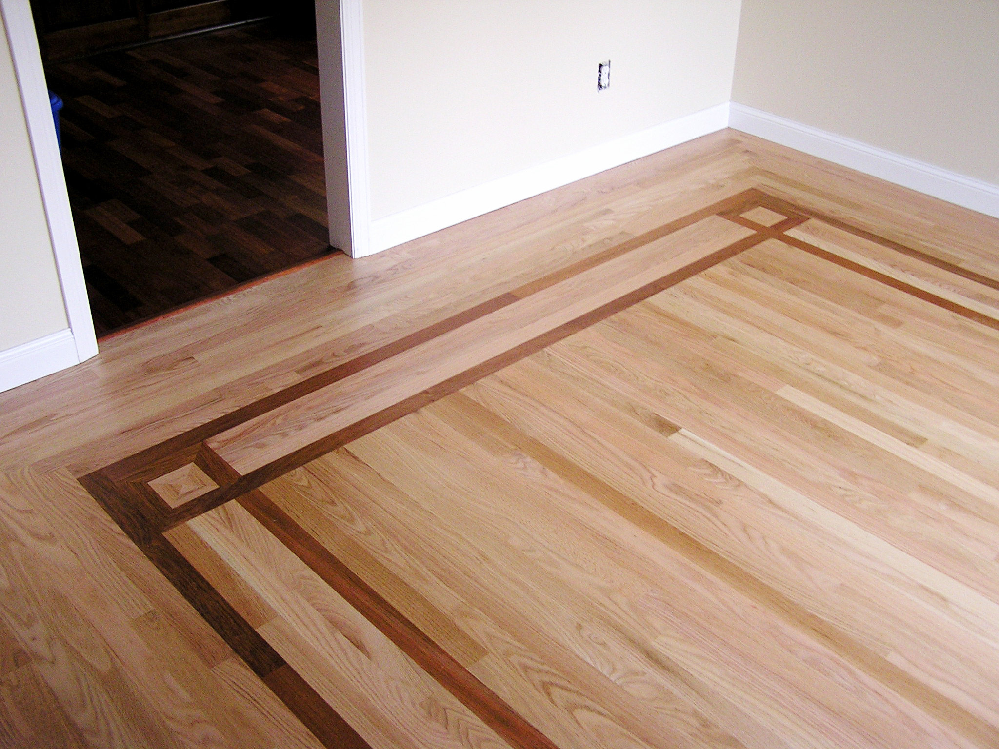 Hardwood bamboo flooring installation in chippewa county for Custom hardwood flooring